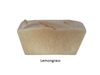 Lemongrass soap benefits - tones the skin, fights pimples.