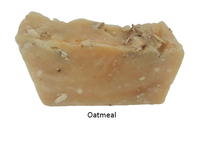 Oatmeal soap benefits - great for eczema, relieving skin irritations.