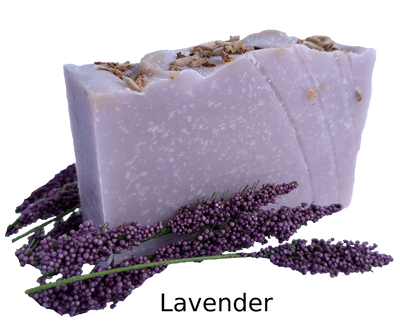 Lavender soap benefits - promotes relaxation, helps reduce anxiety