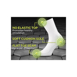 All Day Socks: men's cushion crew 2pk