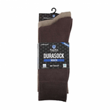 Pussyfoot Non Tight Bamboo and Cotton Socks Mens Brown/Taupe 2pk