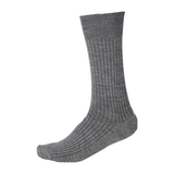 Pussyfoot Non Tight Merino Wool Socks Mens Mid Grey