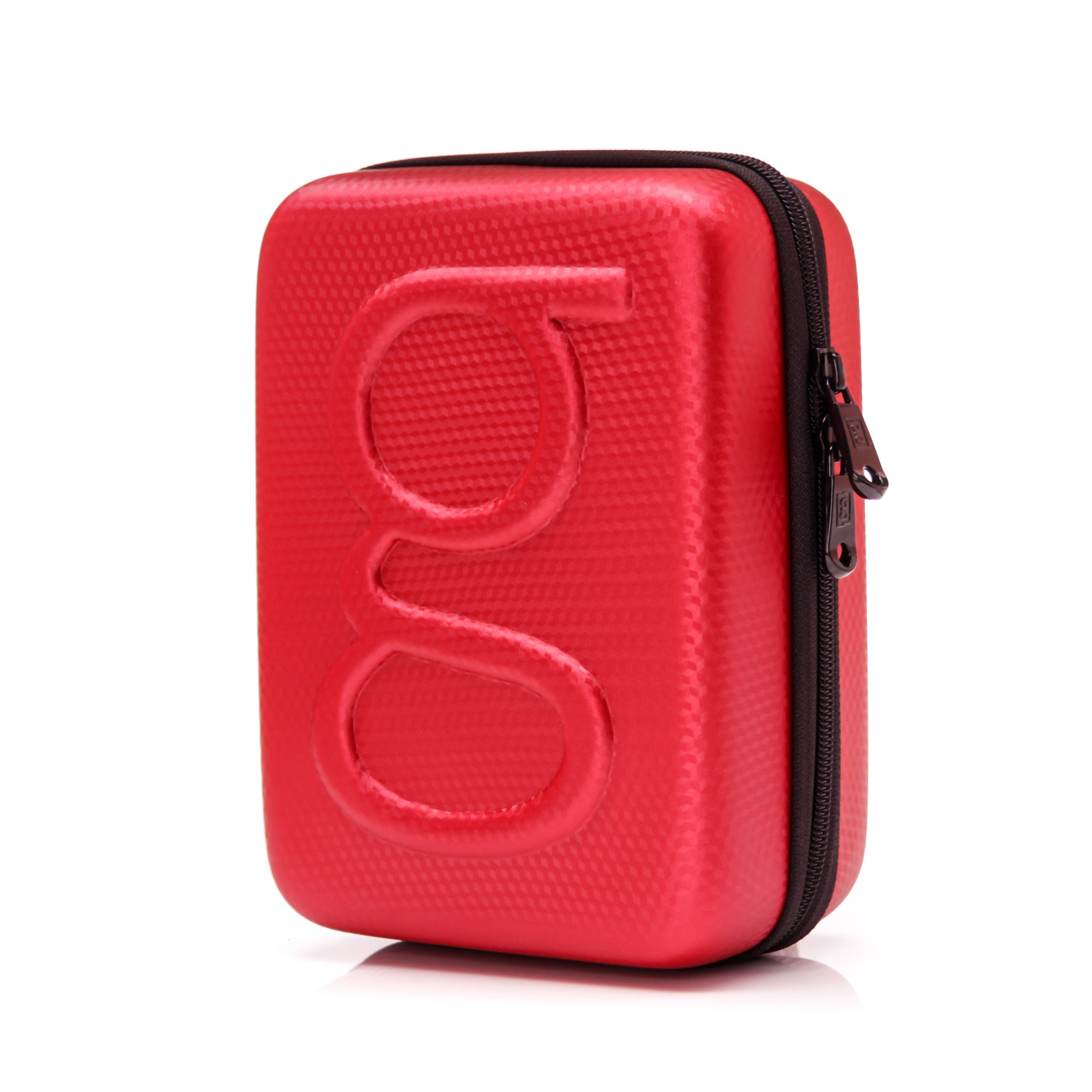 Glucology Diabetes Travel Case Plus II Bundle Red