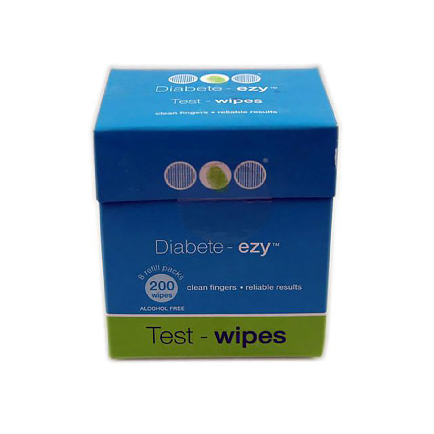 Box Of Diabete-ezy Refill Pack Test Wipes