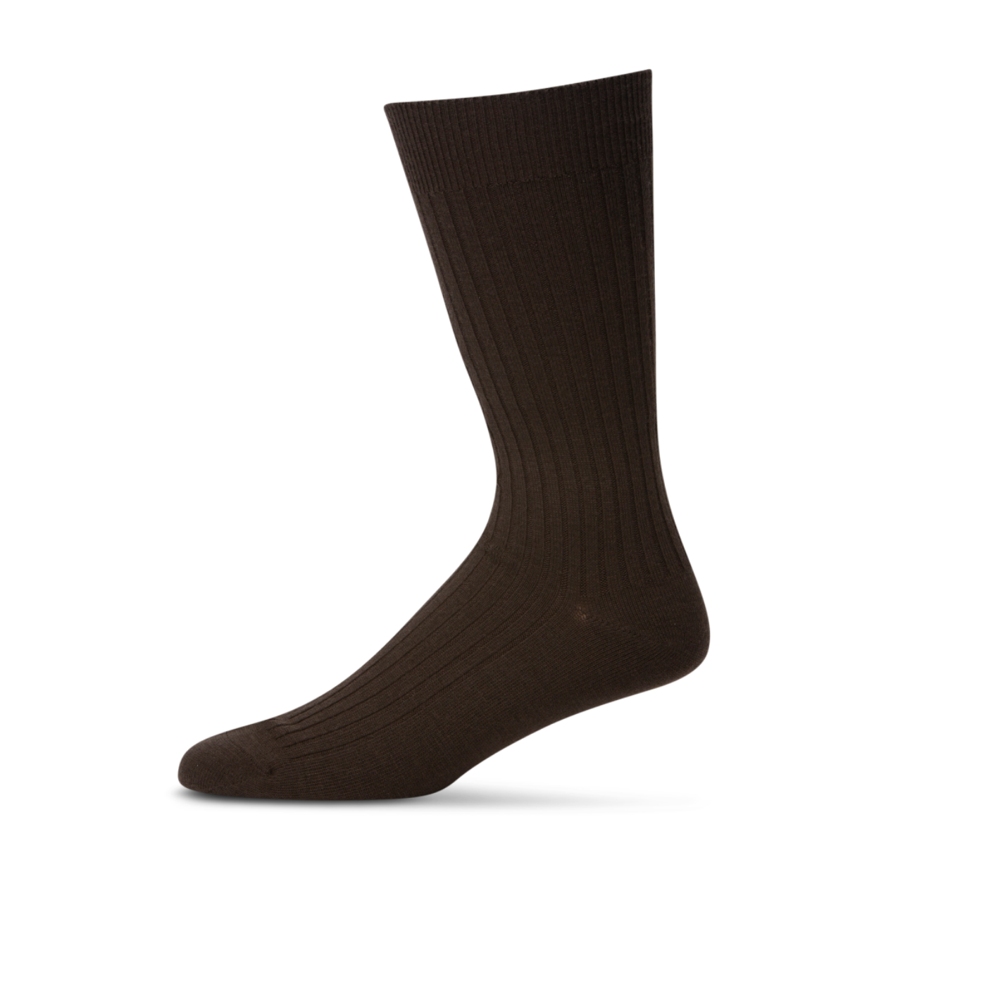 Pussyfoot Merino Wool Socks Men's 7-10 Dark Brown