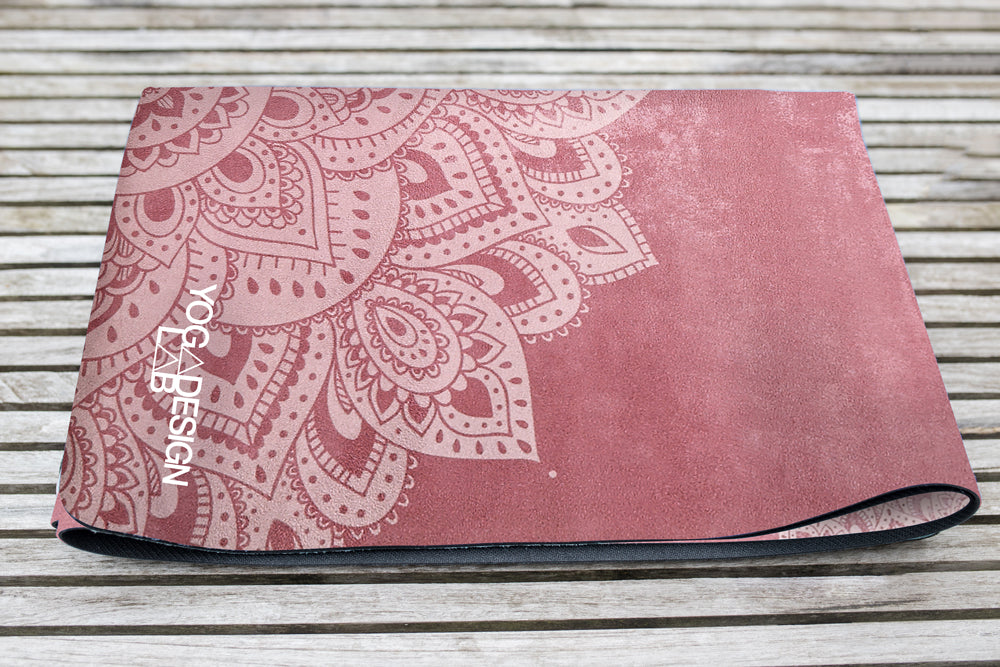 Combo Yoga Mat 1.5mm Mandala Ginger