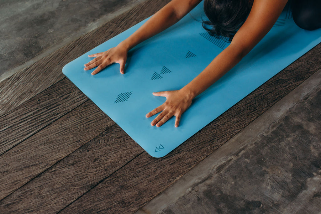 Infinity Yoga Mat 5mm Tribal Aqua
