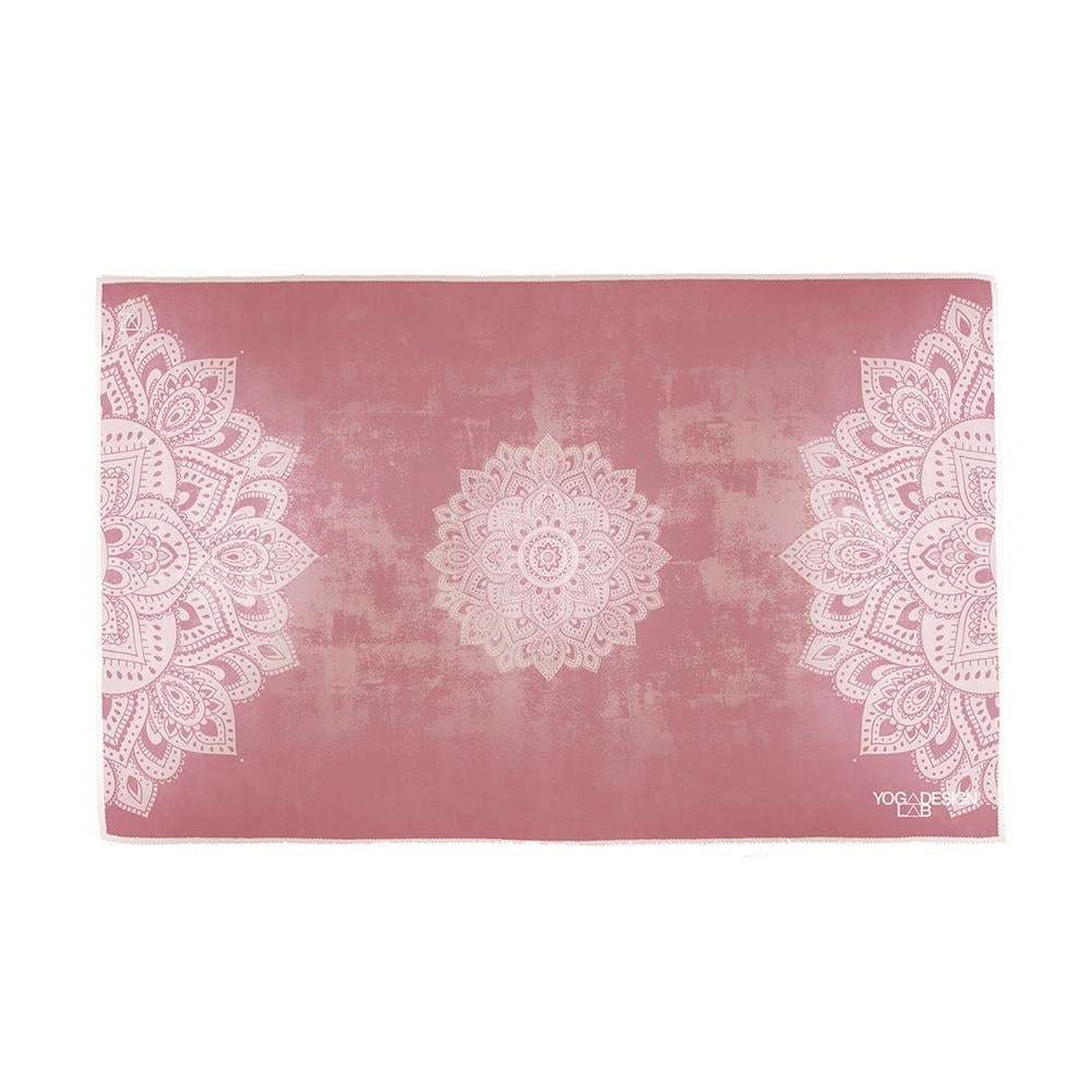 Hand Yoga Towel Mandala Ginger