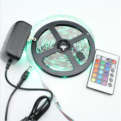 5 Metre 3528 SMD LED Strip Light Indoor KIT w/ 24key Remote