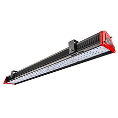 "150W Linear LED Light Fixture - Industrial LED Light w/ Mounting Brackets - 28.42"" Long - 19,500 Lumens"