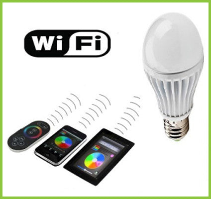 Wifi LED Bulb E27 9Watts Dimmable