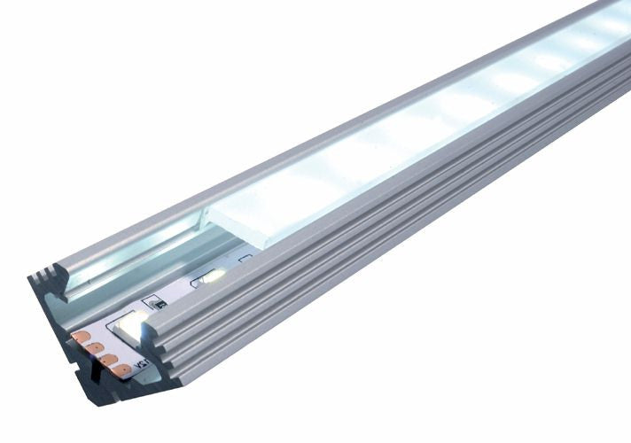 "Corner Rigid Track Profile  36"" for LED Strip"