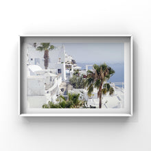 Load image into Gallery viewer, Palm in Santorini