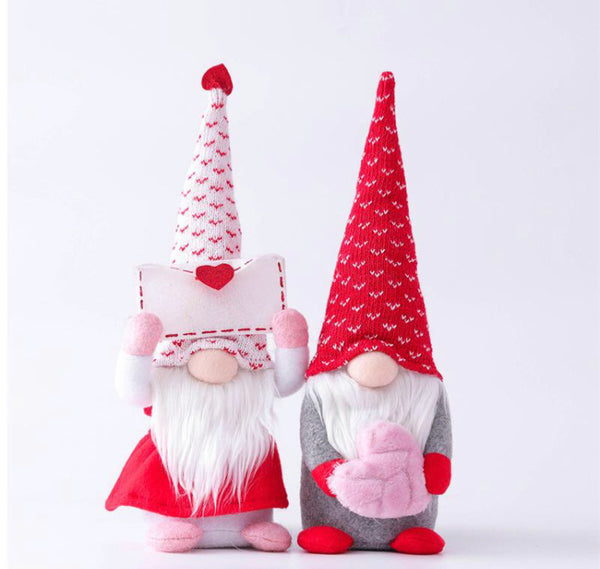 Mrs. Valentine's Day Gnome