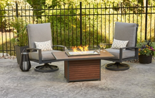 Load image into Gallery viewer, Kenwood Rectangular Chat Height Gas Fire Pit