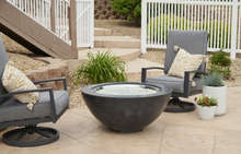 "Load image into Gallery viewer, Black Cove 30"" Gas Fire Pit Bowl"
