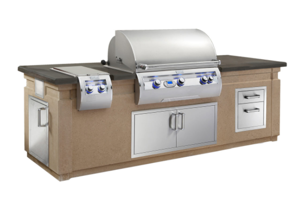 FireMagic Grills Island System with Double Drawer