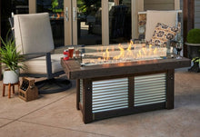 Load image into Gallery viewer, Denali Brew Linear Gas Fire Pit Table
