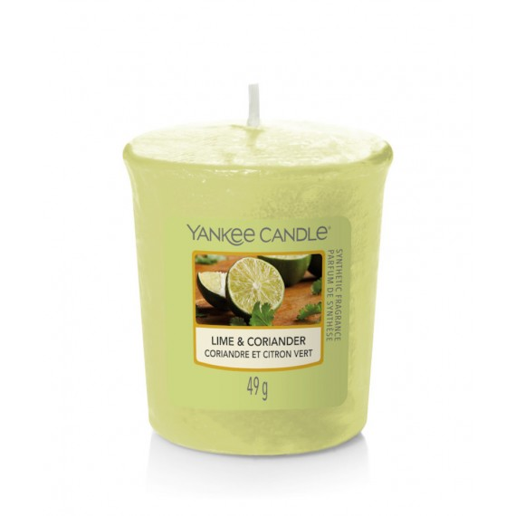 Bougie votive Yankee Candle - Lime & coriander