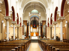 Church of Our Lady of Mount Carmel in Whitefriars Street, Dublin