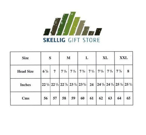 Hat Fit Guide by Skellig Gift Store