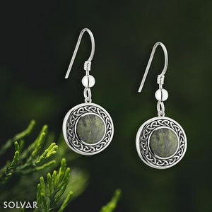Solvar Connemara Marble Drop Earrings s33772