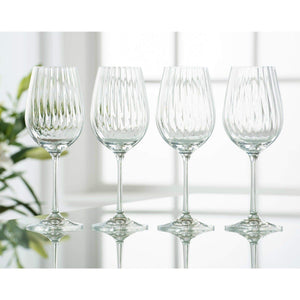 Galway Crystal Erne Wine Glass Set Of 4