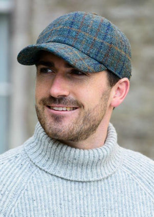 Mucros Weavers Tweed Baseball Cap