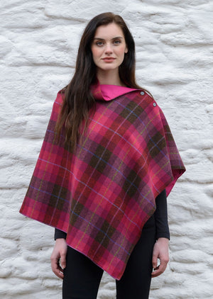 Mucros Pink Check Wrap