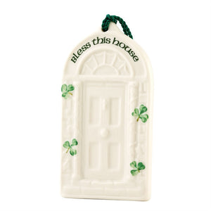 Belleek Classic House Blessing Ornament