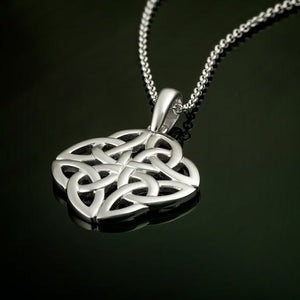Solvar Sterling Silver Trinity Knot Pendant
