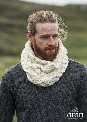 Aran Merino Wool Snood