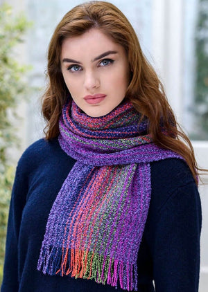Mucros Multi Color Skellig Scarf v111