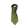 Irish Made Patrick Francis Green Silk Tie Trinity Design PF2002-OS