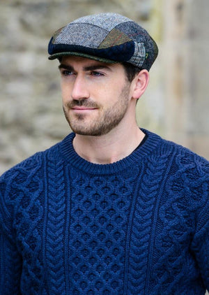 Mucros Patch Flat Cap A