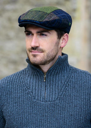 Mucros Original Patch Flat Cap