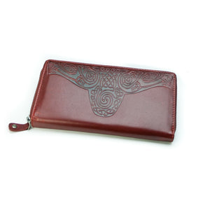 Lee River Roisín Red Ladies Celtic Wallet