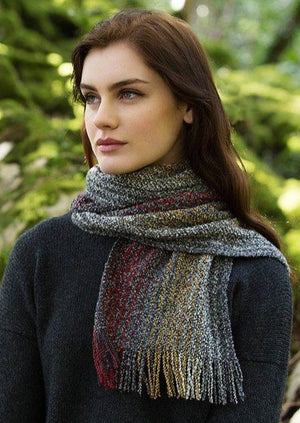 Mucros Irish Skellig Scarf v50