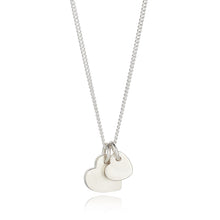 Load image into Gallery viewer, Wear your Love necklace - large and small pendants duo