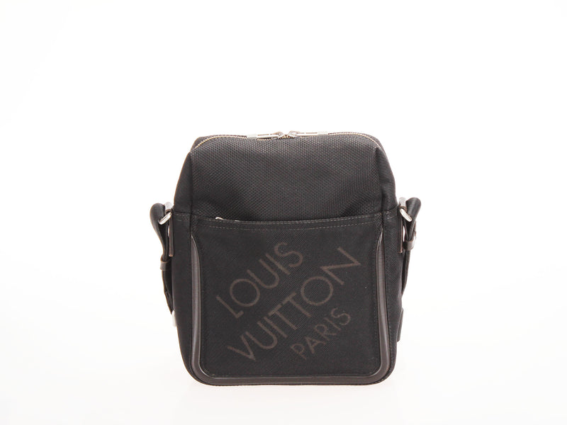 <transcy>Louis Vuitton Citadan Damier Jean Shoulder Bag M93223</transcy>