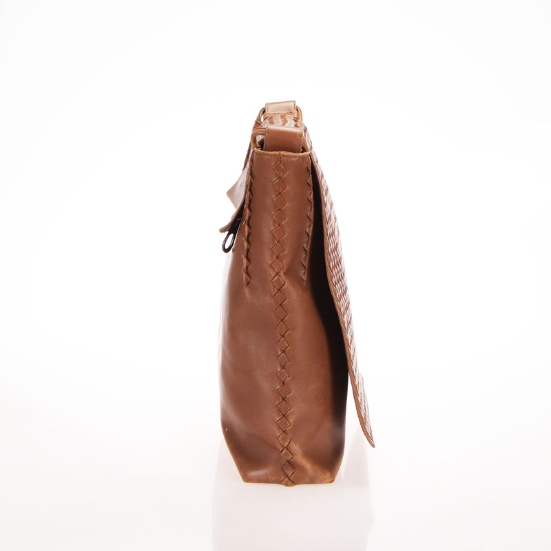 <transcy>Bottega Messenger Shoulder Bag 221065</transcy>