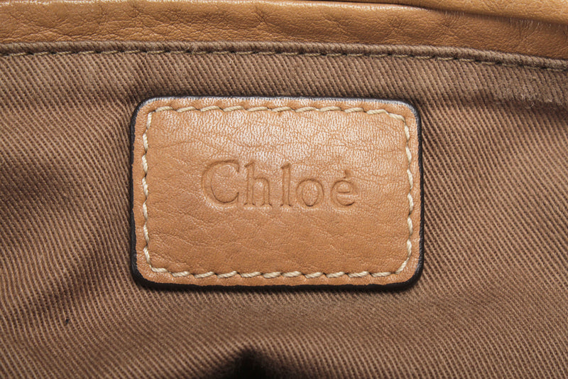 <transcy>Chloe Marcie Handbag Leather</transcy>
