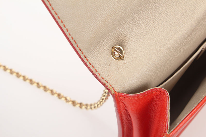 <transcy>Salvatore Ferragamo Chain Shoulder Bag</transcy>