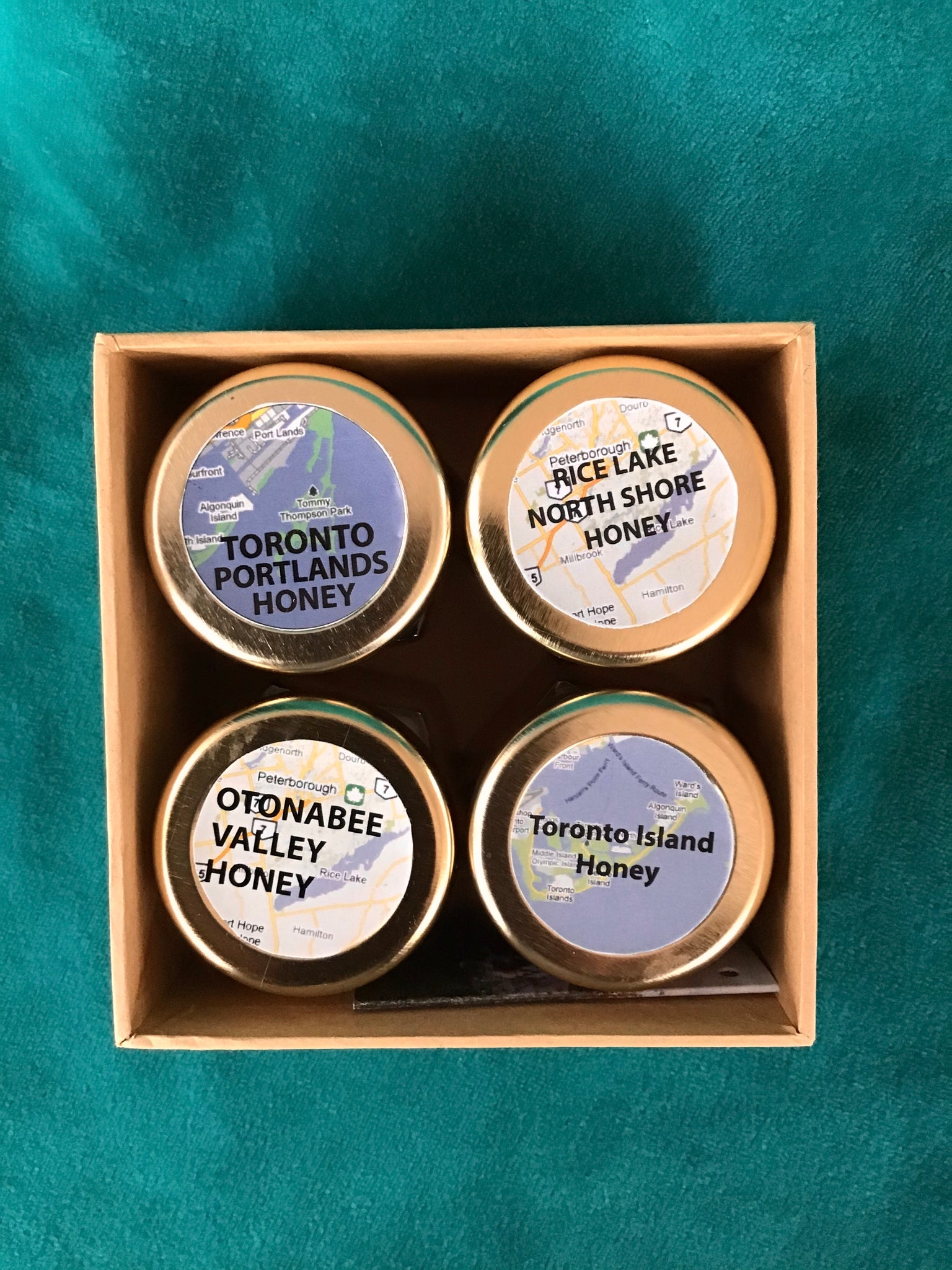 Small Raw Honey Gift Box