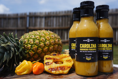 Carolina Habanero Pineapple BBQ Sauce
