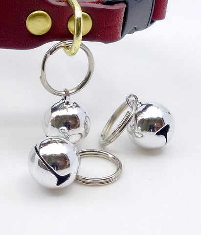 Cat Collar Jingle Bell For Cats In Silver Finish