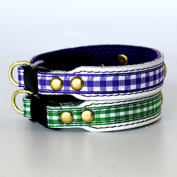 Cat Collar personalized ribbon/suede from chart)