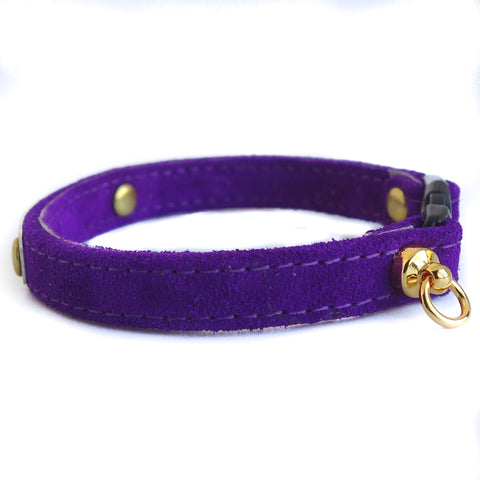 Cat Collar Personalized (Purple Sample)
