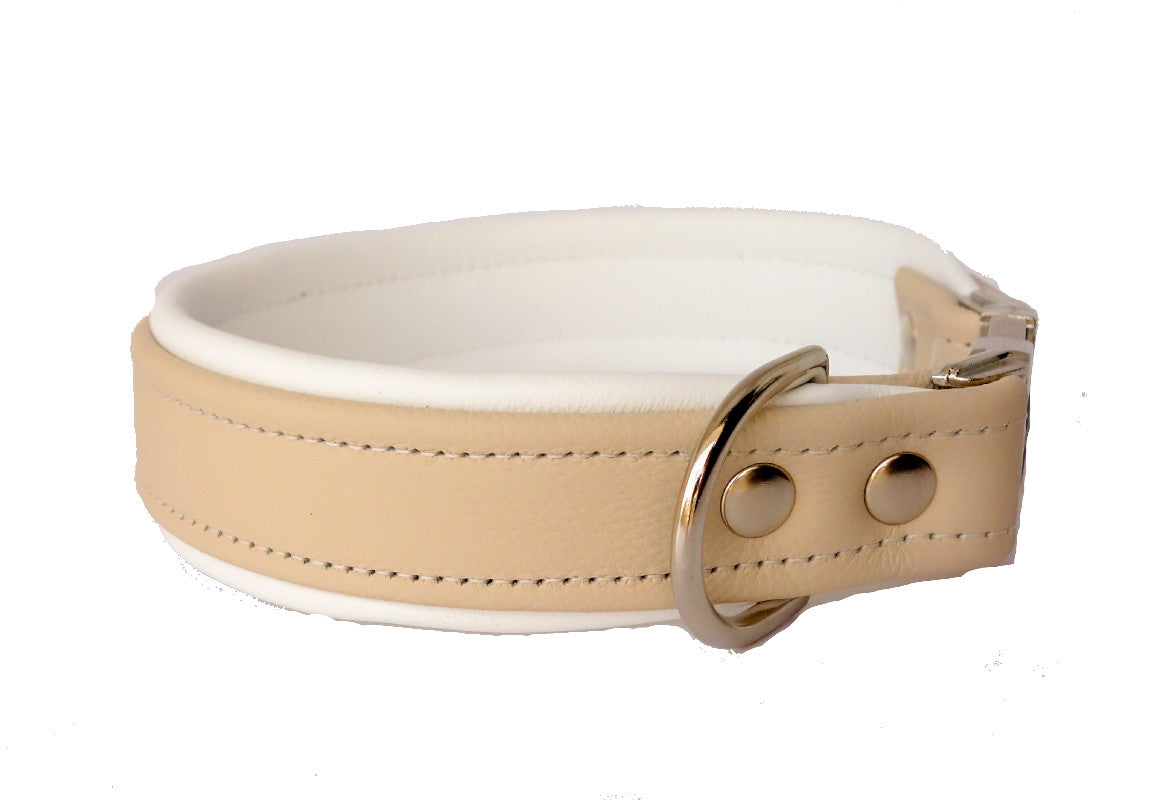 Double Layered Leather Cat Collar