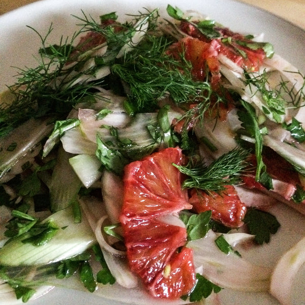 Wasted Kitchen Fennel & Blood Orange Salad